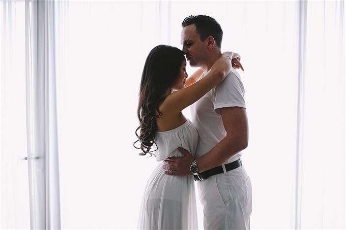 Bằng tình yêu chân thành, 4 năm sau ngày đăng ký kết hôn làm chồng hờ, San đã chinh phục được trái tim Nam Thuý.