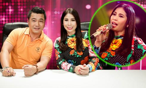 Em gái Lý Hùng khoe giọng hát trên truyền hình