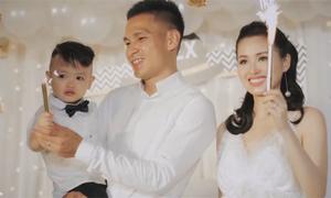 Vợ chồng Tâm Tít tổ chức sinh nhật hoành tráng cho con trai