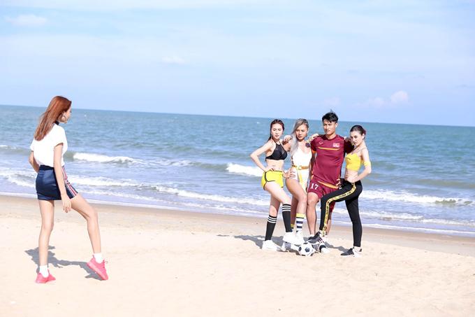 Nắm bắt đúng yêu cầu của thử thách đề ra, đồng thời biết phát huy sức mạnh của từng cá nhân đã giúp các thành viên trong team Hoàng Thùy hoàn thành tốt phần thi đầu tiên. Trong đó, Quỳnh Như là thí sinh giành được chiến thắng.