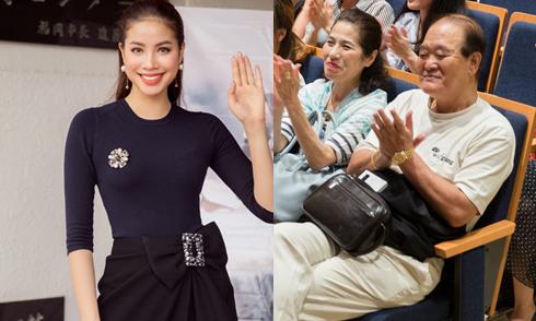 Vợ chồng già người Nhật đi họp fanclub Phạm Hương