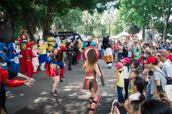 Ngày hội đường phố với nhiều hoạt động hấp dẫn diễn ra vào ngày 23/7.