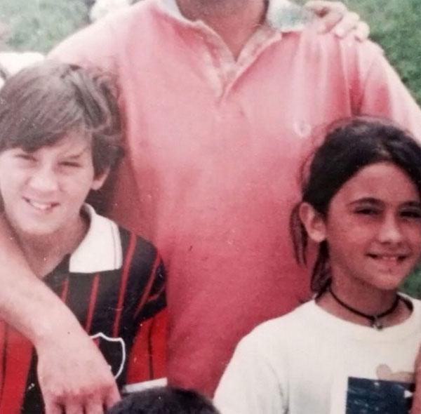 Messi và Antonella Roccuzzo