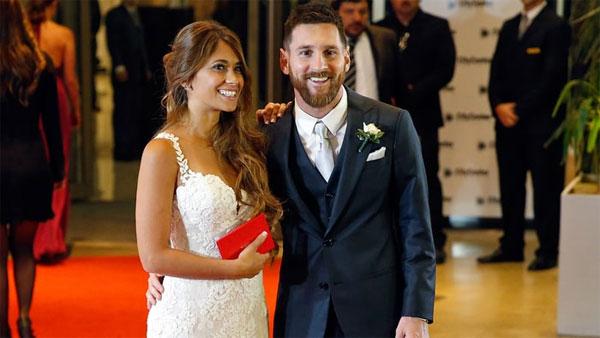 Chú rể Messi