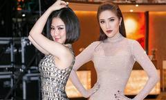 Sao Việt tỏa sáng với trang phục đính pha lê