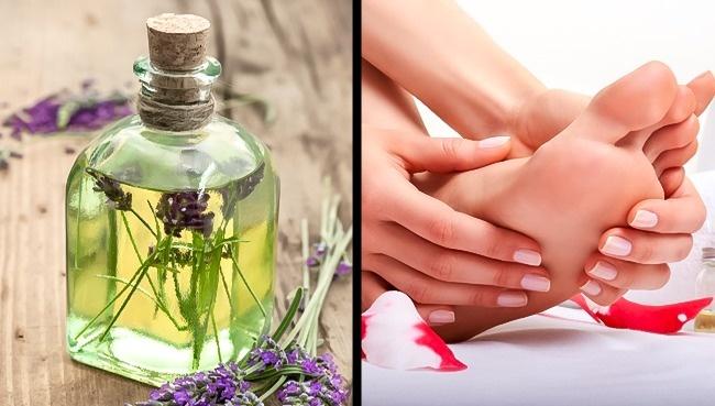 Massage với tinh dầu