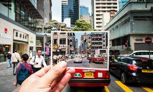 Bộ ảnh Hong Kong tấp nập dù là ngày ấy hay bây giờ