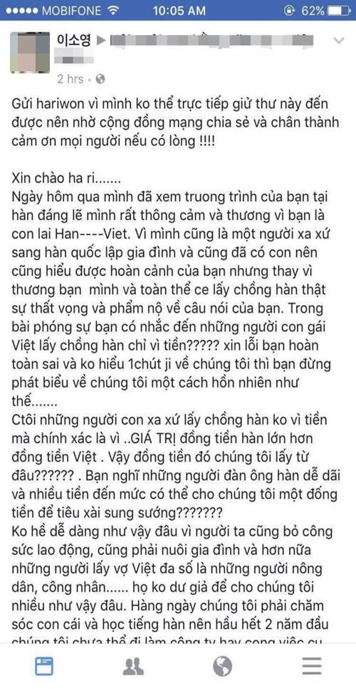 hari-won-giai-thich-hieu-lam-khi-noi-phu-nu-viet-lay-chong-han-vi-tien