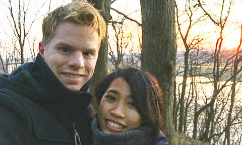 Chuyện tình 'cọc đi tìm trâu' của cô gái Hải Phòng và chàng trai Hà Lan