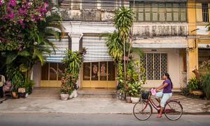 Thị trấn Kampot yên bình ở Campuchia