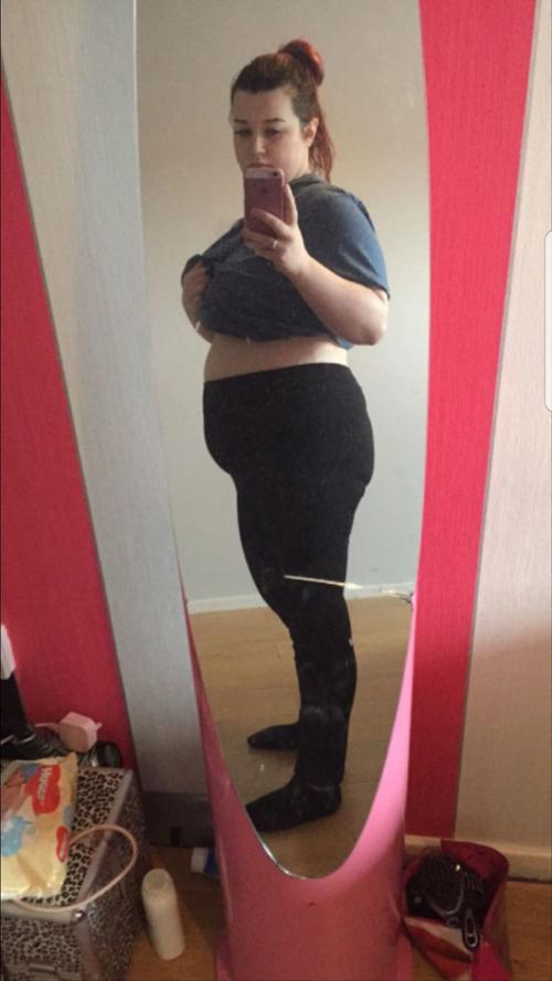 Siobhan Thornton từng nặng tới 110 kg.