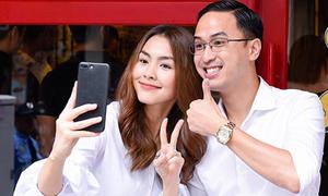 Tăng Thanh Hà tái xuất, khoe dáng thon sau 4 tháng sinh con thứ hai