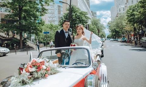 Đám cưới lãng mạn trên đất Pháp của cặp đôi 9X Việt
