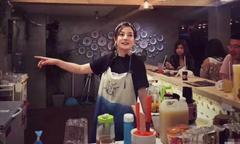 Triệu Vy làm bà chủ nhà hàng, Huỳnh Hiểu Minh là nhân viên