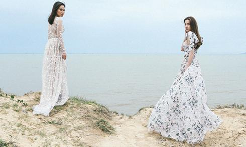 Hồ Ngọc Hà, Thu Minh dang nắng quay MV ở vực thẳm