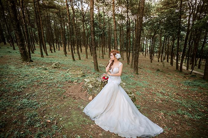Để chuẩn bị cho đám cưới, Quân và Trâm chọn Ba Vì để ghi lại những khoảnh khắc hạnh phúc.