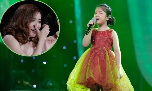 Bích Phương bật khóc trước màn lột xác của cô bé khiếm thị tại Idol Kids