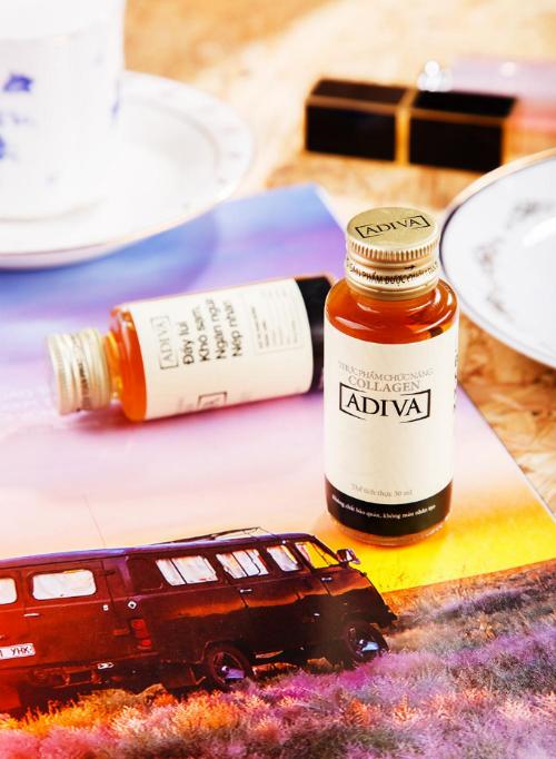 Collagen Adiva giúp đẩy lùi khô sạm, ngừa nếp nhăn hiệu quả sau 28 ngày sử dụng.