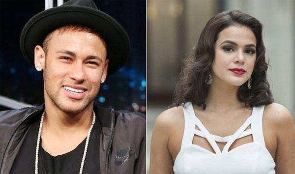 Neymar và Bruna Marquezine đường ai nấy đi. Ảnh: NS.