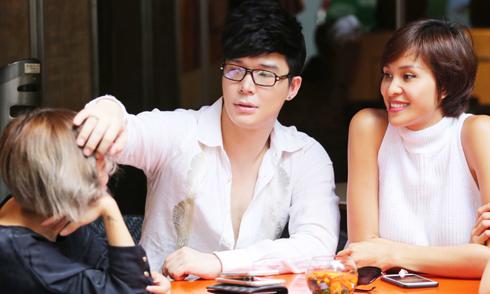 Nathan Lee giới thiệu em gái với 'người yêu tin đồn'