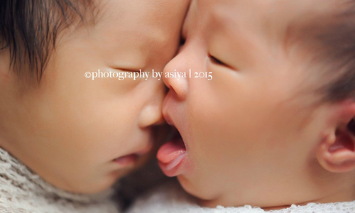 Những bức ảnh có thể khiến bạn muốn đẻ con sinh đôi