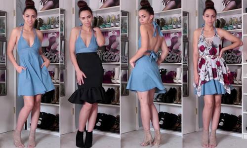 10 cách mix biến hóa với một chiếc váy
