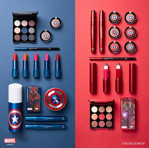Bộ sưu tập mỹ phẩm phiên bản giới hạn lấy cảm hứng từ các nhân vật siêu anh hùng trong truyện tranh của Marvel
