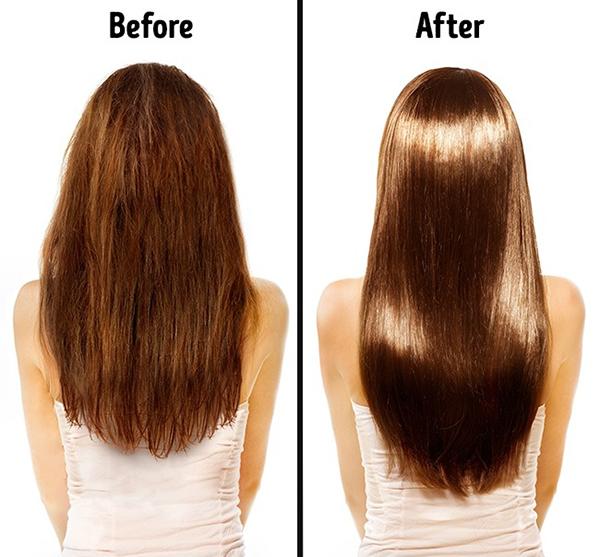 3. Tóc bóng khoẻ hơn Magie và kẽm trong hạnh nhân giúp kích thích sự phát triển của sợi tóc trong khi vitamin E giúp tóc thêm chắc khoẻ.