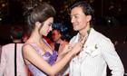Kim Tuyến tình tứ với diễn viên Hiếu Nguyễn trong đêm tiệc