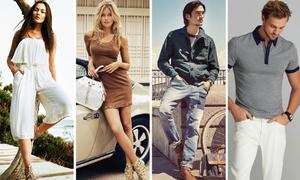 Ưu đãi 50% nhiều thương hiệu thời trang quốc tế tại TP HCM