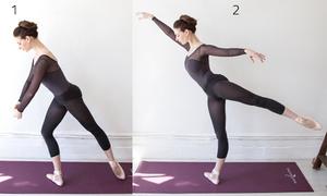 7 động tác ba lê đơn giản giúp giảm mỡ thừa toàn thân