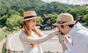 Đôi Sài thành chi 1 tỷ đồng xuất ngoại chụp ảnh cưới chỉ sau một tháng yêu