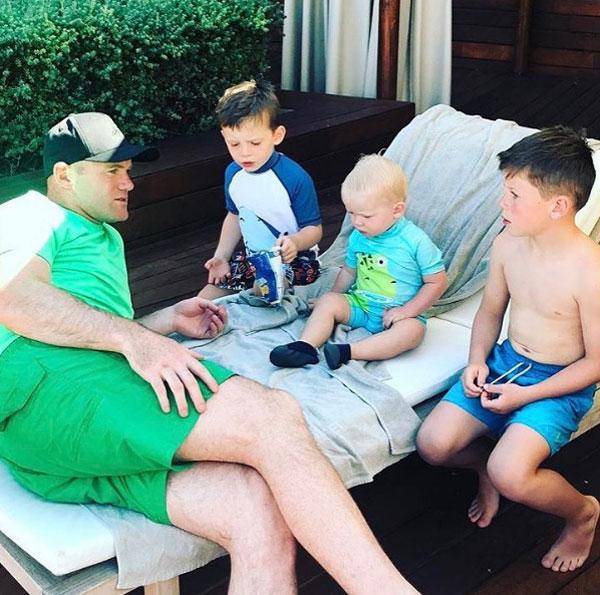 Rooney và 3 cậu nhóc