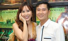 Lưu Hương Giang mặc sexy, e ấp bên ông xã Hồ Hoài Anh