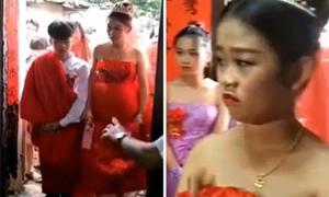 Cặp 13 tuổi ở Trung Quốc cưới vội vì cô dâu nhí lỡ mang bầu