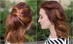 7 kiểu tóc điệu đà chỉ mất 1 phút tạo kiểu