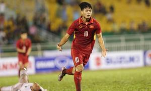 Màn tỏa sáng của Công Phượng ở vòng loại U23 châu Á