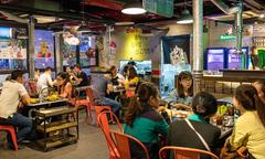 Không gian ẩm thực Hàn đặc trưng giữa Sài Gòn