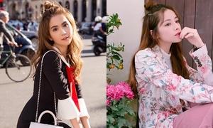 Mỹ nhân Việt trẻ trung với tóc búi củ tỏi nửa đầu