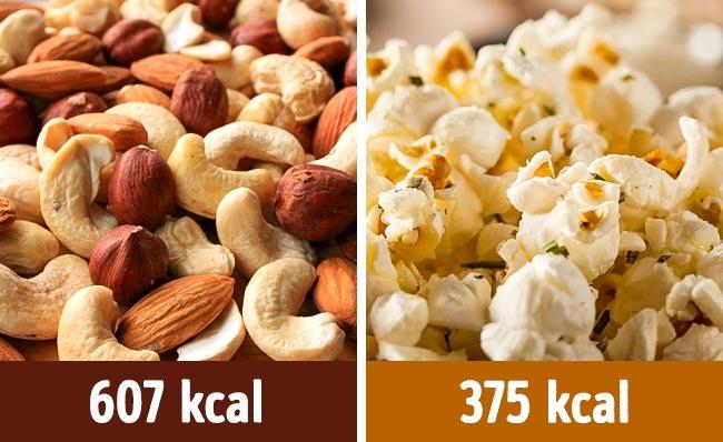 Bắp rang bơ tự nổ tại nhà chứa ít calories hơn