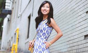 Váy hè style Hàn Quốc yêu kiều