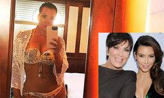 61 tuổi, mẹ Kim vẫn khiến các con gái ngưỡng mộ vì thân hình nóng bỏng