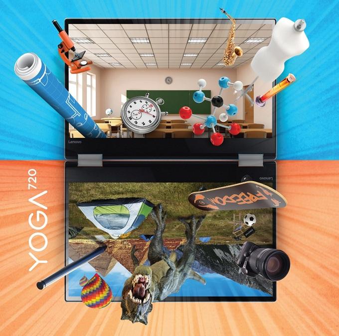 Lenovo Yoga 720  khơi nguồn cảm hứng mùa hè sôi động.