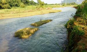 Bé trai mất tích ở Thanh Hóa bị ngã xuống sông