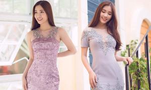 Đầm ngắn hợp mốt giúp nàng tôn nét thanh lịch