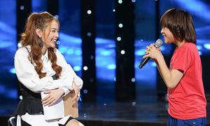 Minh Hằng tận tình hướng dẫn top 3 Idol Kids trước đêm chung kết