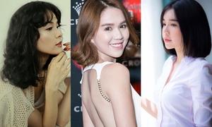 Mỹ nhân Việt xinh tươi hơn khi 'xuống tóc'