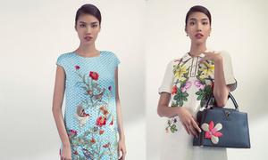 Công Trí trình làng các mẫu váy thêu hoa tinh tế