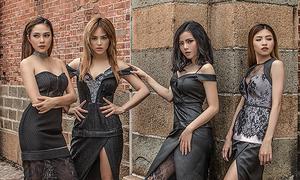 Nhóm S-Girls gợi cảm với sắc đen
