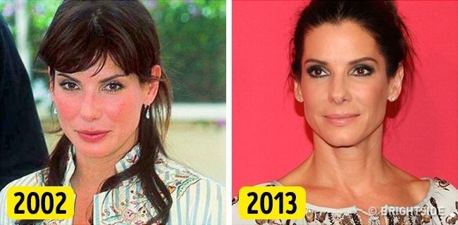 Sandra Bullock là minh chứng rõ ràng cho việc vẻ đẹp tự nhiên chiến thắng